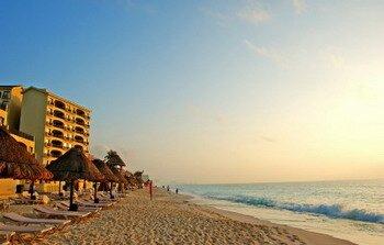 map of Cancun hotels
